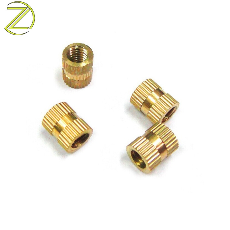 Knurled Brass Insert Nuts With Threaded M4